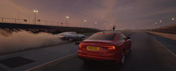 Noul RS5 e atat de bun incat nu are nimic de demonstrat. Cel putin asa zic nemtii de la Audi in cea mai recenta reclama