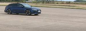 Noul RS6 AVANT nu a putut tine pasul cu masinile de la MERCEDES si BMW si a pierdut toate cursele