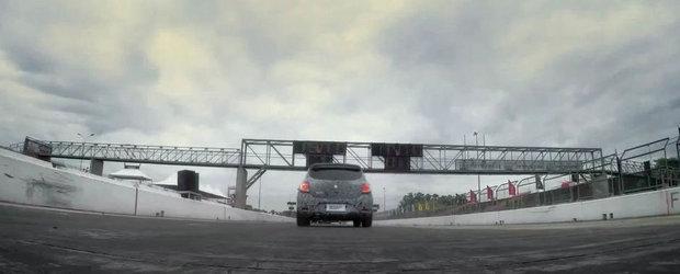 Noul Sandero RS iese pe circuit. Cum suna primul model sport de la Mioveni