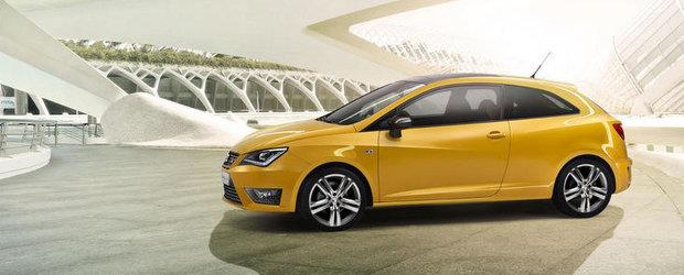Noul Seat Ibiza Cupra este un mini hot-hatch de 180 cai putere