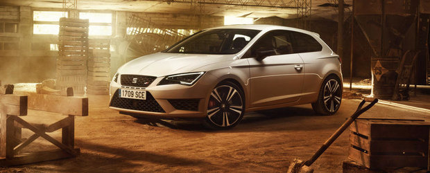 Noul SEAT Leon Cupra 290 are 290 CP, face suta in 5.7 secunde