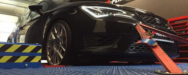 Noul SEAT Leon Cupra ofera acum pana la 420 CP, multumita PP Performance