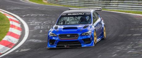 Noul sedan de la Subaru a fost la un pas sa bata o masina de 887 CP