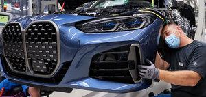 Noul Seria 4 a intrat in productia de serie si nimic nu mai poate face BMW sa regandeasca grila frontala