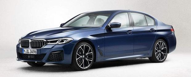 Noul Seria 5 a ajuns mai devreme pe internet. Pozele pe care sefii de la BMW le vor sterse de urgenta!