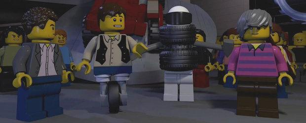 Noul sezon Top Gear anuntat printr-un trailer cu figurine LEGO