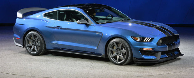 Noul Shelby GT350R suna absolut demential, chiar si la ralanti