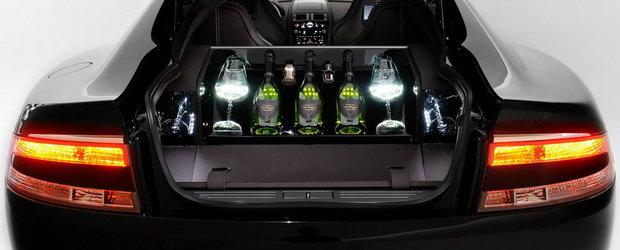 Noul si specialul Aston Rapide Dom Perignon promite sa te imbete cu luxul sau