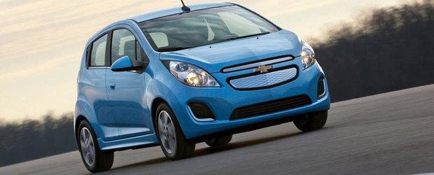 Noul Spark EV de la Chevrolet ofera mai multa autonomie si economie de carburant