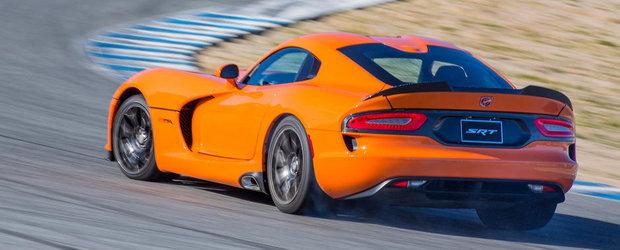 Noul SRT Viper TA fura de la Corvette ZR1 recordul circuitului Laguna Seca