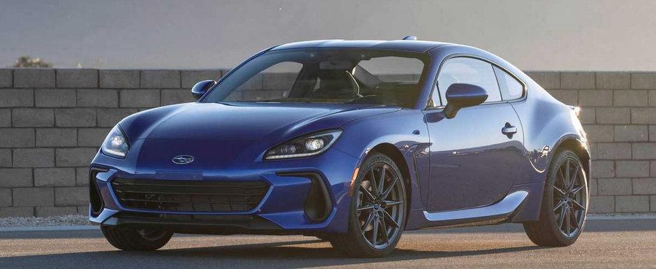Noul Subaru BRZ a ajuns mai devreme pe internet. Pozele pe care japonezii le vor sterse de urgenta