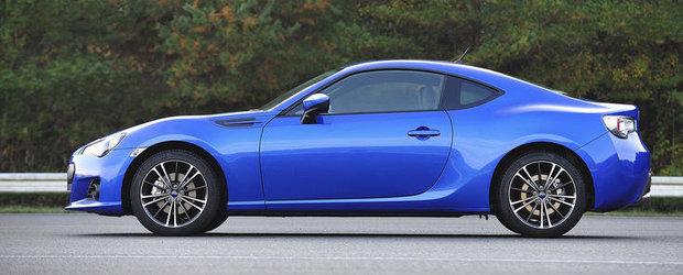 Noul Subaru BRZ face 0 - 96 km/h in 6.4 secunde