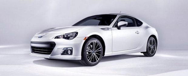 Noul Subaru BRZ - Primele fotografii si informatii oficiale