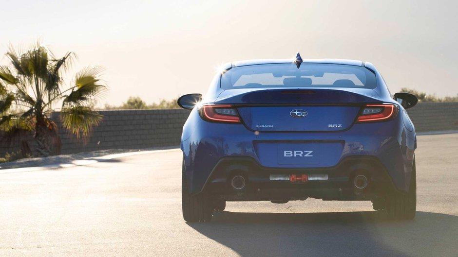 Noul Subaru BRZ - Primele poze