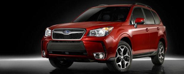 Noul Subaru Forester va debuta la Salonul Auto de la Los Angeles