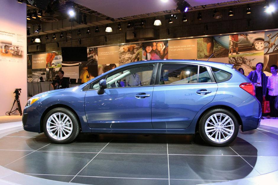 Noul Subaru Impreza 2012 - poze LIVE de la New York