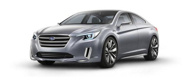 Noul Subaru Legacy Concept debuteaza inaintea Salonului de la Los Angeles
