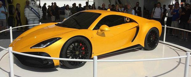 Noul supercar britanic are motor de Ford GT si peste 500 de cai putere. Cand va fi lansat pe piata