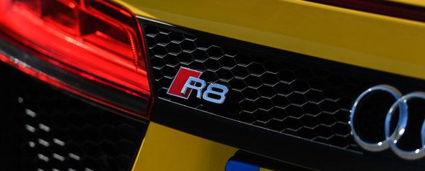 Noul supercar de la Audi este cu adevarat exclusivist. Numai 44 de exemplare vor exista in toata lumea