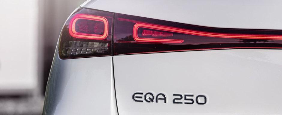 Noul SUV electric de la Mercedes are spate de Peugeot si autonomie de peste 420 km. GALERIE FOTO completa