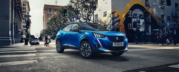 Noul SUV urban de la PEUGEOT este aici. Premiera absoluta o reprezinta versiunea electrica cu autonomie de 310 km