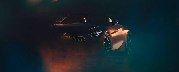 Noul teaser de la BMW iti arata viitorul Z4. Conceptul va fi prezentat la Pebble Beach