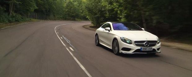 Noul test in compania Mercedes-ului S-Class scoate in evidenta toate calitatile coupe-ului german