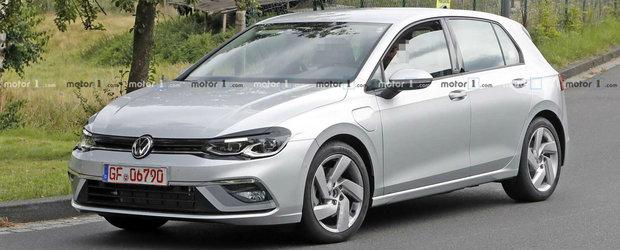 Noul Volkswagen Golf 8, in cele mai clare imagini de pana acum. Fa cunostinta cu versiunea GTE
