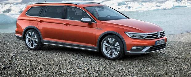 Noul Volkswagen Passat debuteaza in versiunea Alltrack