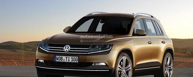 Noul Volkswagen Tiguan - asa o sa arate?