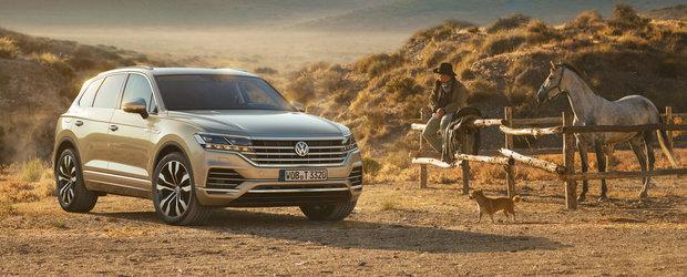 Noul Volkswagen TOUAREG de acum si cu motor pe benzina. Disponibil si in Romania de la 51.335 euro