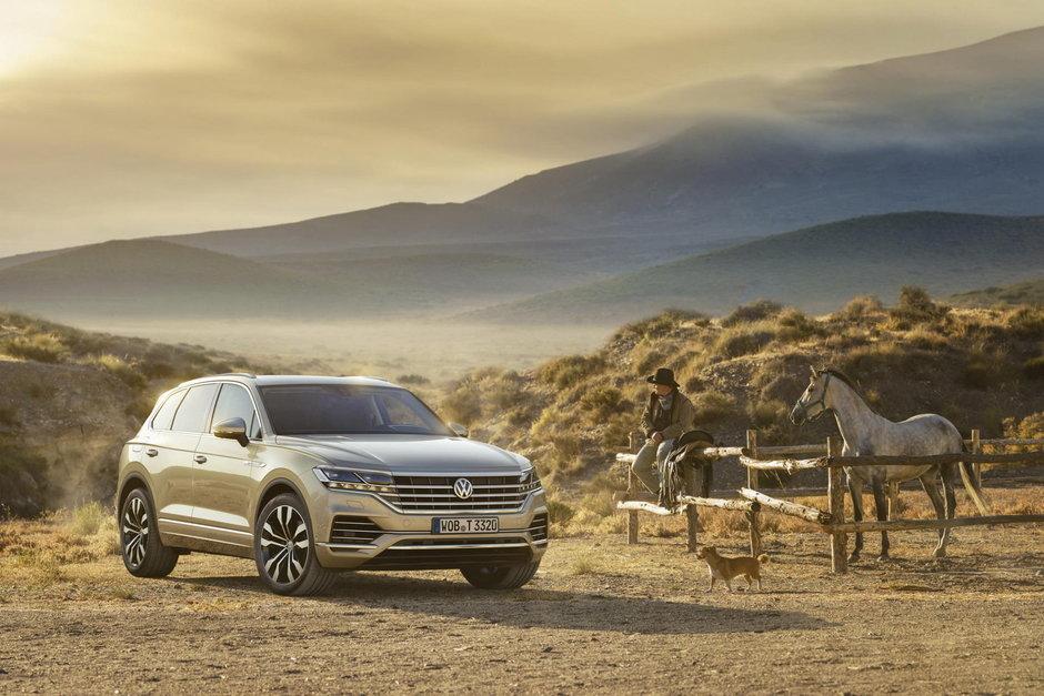 Noul Volkswagen Touareg