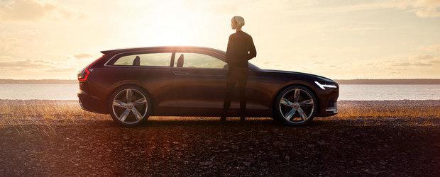 Noul Volvo Concept Estate ne demonstreaza teoria atractiei fizice
