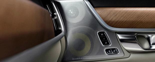 Noul Volvo S90 ne face cunostinta cu sistemul sau audio de 1.400 W