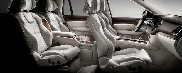 Noul Volvo XC90 Excellence ofera patru scaune individuale si lux cat cuprinde