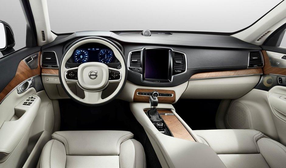 Noul Volvo XC90 - Galerie Foto