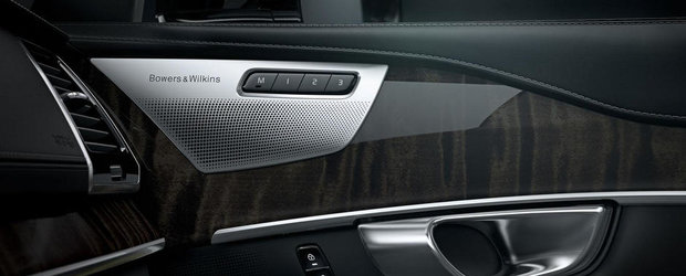 Noul Volvo XC90 se lauda cu un sistem audio Bowers & Wilkins