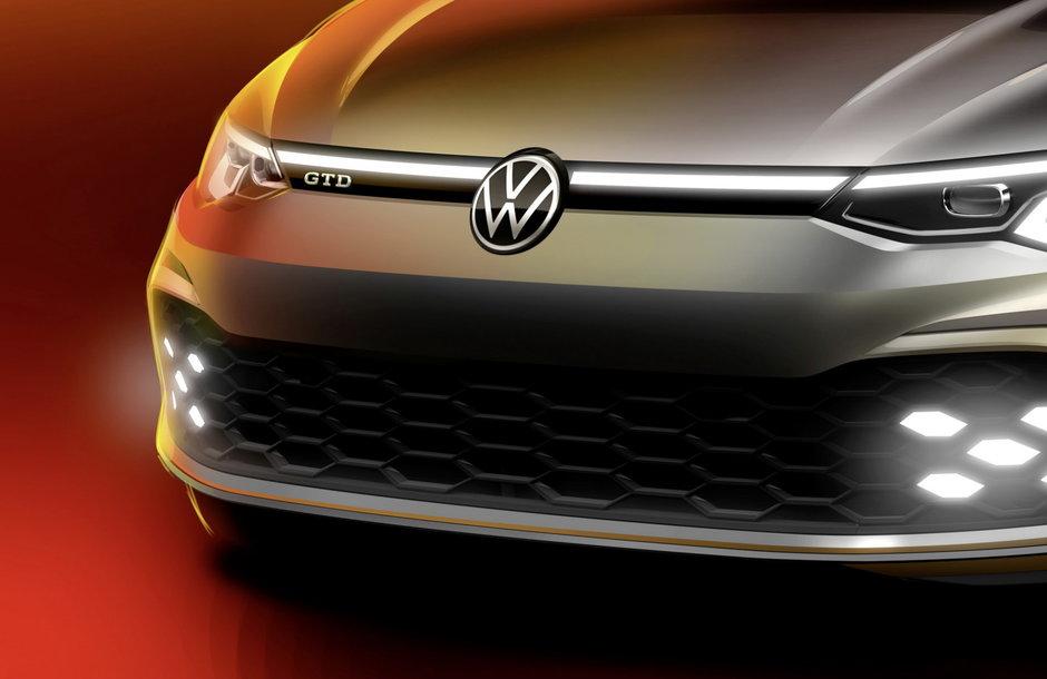 Noul VW Golf GTD - Prima poza