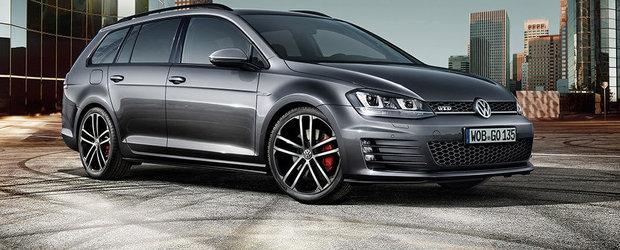 Noul VW Golf GTD Variant ofera 184 CP si 380 Nm pentru 31.975 euro