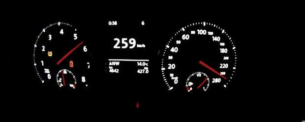 Noul VW Golf GTI accelereaza de la 0 la 259 kilometri pe ora. VIDEO AICI!