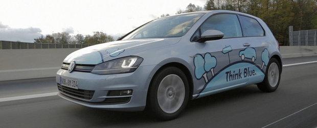 Noul VW Golf TDI BlueMotion reuseste imposibilul: un consum mai mic de 3 litri la 100 km!