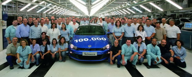 Noul VW Scirocco a ajuns la 100.000 exemplare produse!