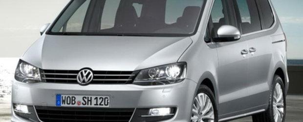 Noul VW Sharan se arata!