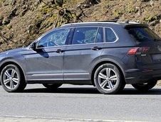 Noul VW Tiguan necamuflat