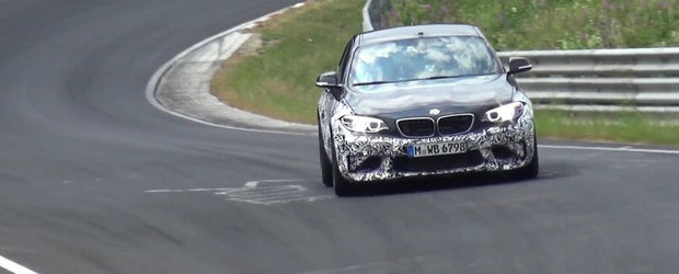 Noului BMW M2 nu prea pare sa-i pese de limitele de viteza de la Nurburgring