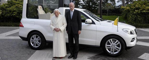 Noutati de la Vatican: Mercedes-Benz M-Klasse va fi folosit de Papa Benedict al XVI-lea
