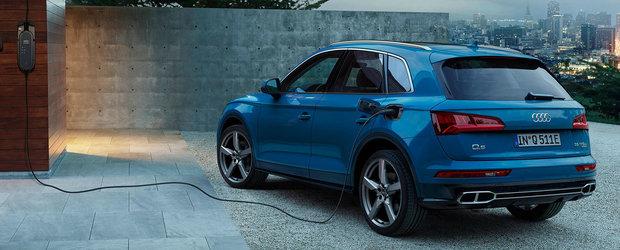 Noutati in gama AUDI Q5: versiune plug-in hybrid cu 367 CP si autonomie de peste 40 kilometri