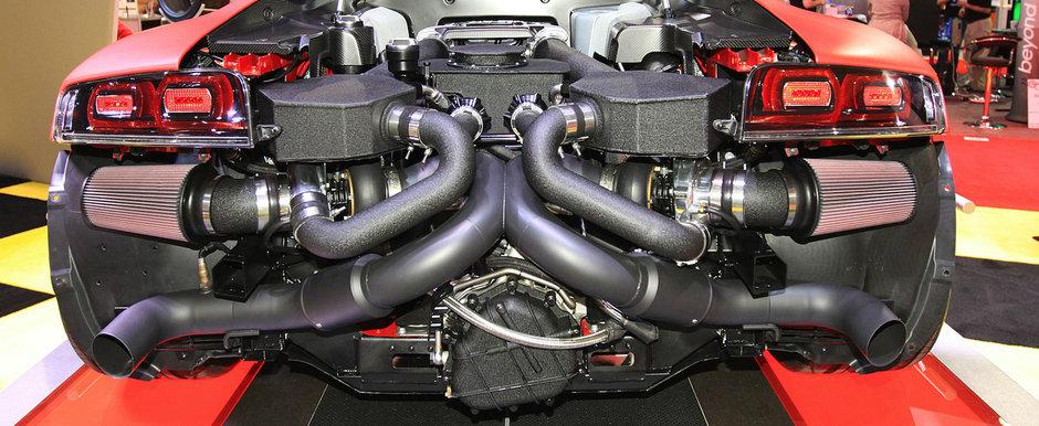 Nu a durat prea mult. Hennessey anunta un Audi R8 de peste 2.000 de cai putere