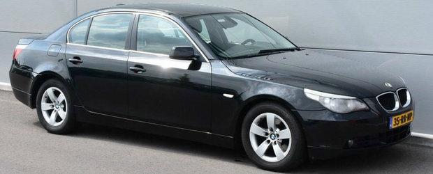Nu a mai ramas de el nici macar pielea de pe volan. Acesta ar putea fi cel mai rulat BMW Seria 5 din intreaga lume