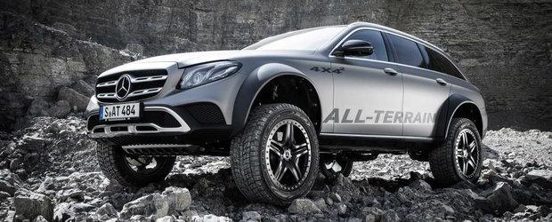 Nu a mai rezistat valului de cereri. Mercedes s-a hotarat sa produca E-Class-ul All Terrain 4x4 Squared